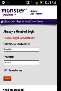Job Search screenshot 2
