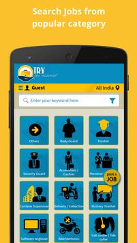 TRY : Job Search / Job Listing poster
