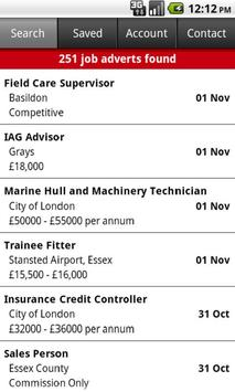 Jobs In Essex screenshot 1