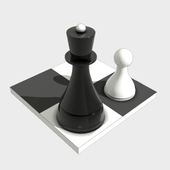 Chess puzzles, Chess tactics icon