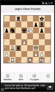 Chess puzzles, Chess tactics poster