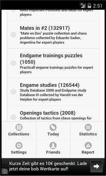 Chess puzzles, Chess tactics apk screenshot