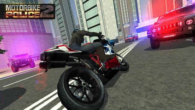 MotorBike Vs Police 2 HD apk screenshot