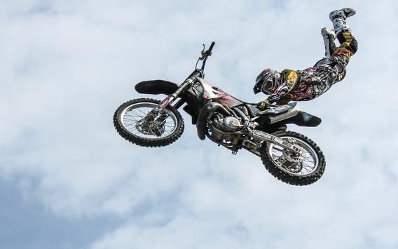 Stunt Motocross Rider Racer 3D poster
