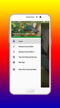 Kicau Master Burung Robin Mp3 apk screenshot