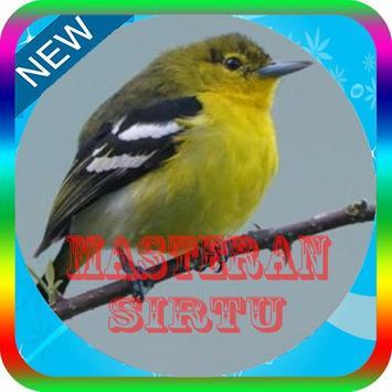 Kicau Master Burung sirtu Mp3 poster