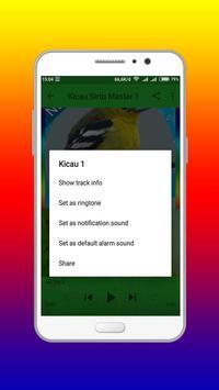 Kicau Master Burung sirtu Mp3 screenshot 1