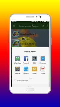 Kicau Master Burung sirtu Mp3 screenshot 3
