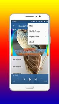 Kicau Burung Blackthroat master Offline screenshot 3