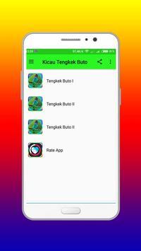 Kicau Tengkek Buto Ngekek Offline apk screenshot