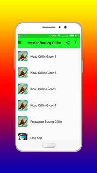 Masteran Burung Cililin Ngerol apk screenshot