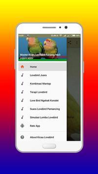 Master Kicau Lovebird Panjang Mp3 apk screenshot