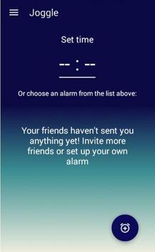 Joggle- friends alarm apk screenshot