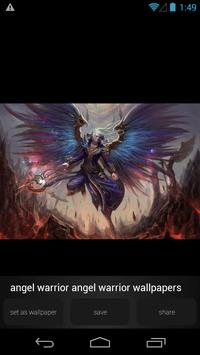 Angel Warrior Wallpapers apk screenshot