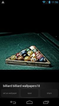 Snoker Billiard Wallpapers apk screenshot
