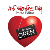 Anti Valentine Day Photo Editor icon