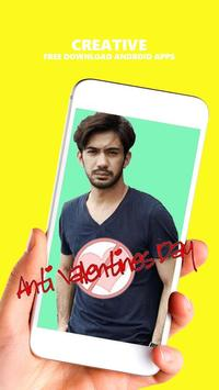 Anti Valentine Day Photo Editor screenshot 1