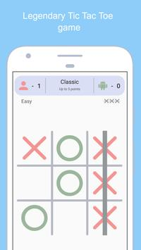 Tic Tac Toe - Free Puzzle Game for Adults and Kids poster