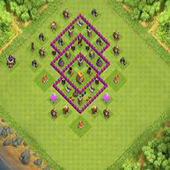 Town Hall 6 Farming Base Layouts icon