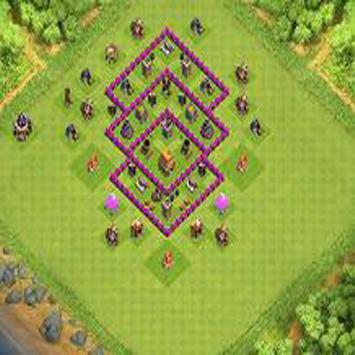 Town Hall 6 Farming Base Layouts screenshot 4
