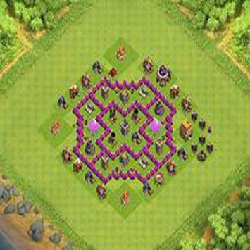 Town Hall 6 Farming Base Layouts screenshot 1
