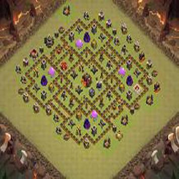 Town Hall 10 War Base Layouts screenshot 2