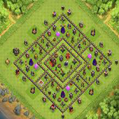 Town Hall 11 Trophy Base Layouts icon