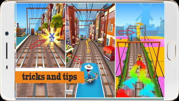 Subway Guide Surfers 18 poster