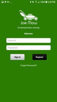 Joe Mow App apk screenshot