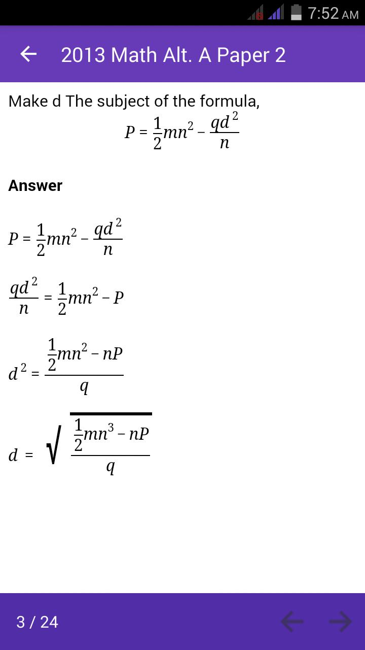 Kcse Mathematics Mock Booklet 2019