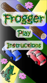 Frogger poster