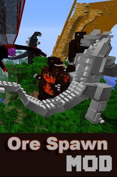 OreSpawnPE Mod For MCPE apk screenshot