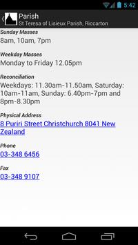 Christchurch Parish Browser screenshot 1