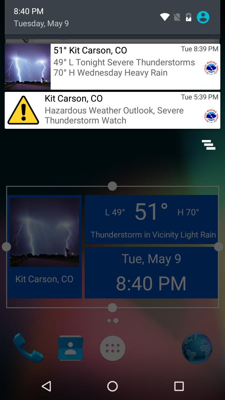 National Weather Service NOW for Android - APK Download