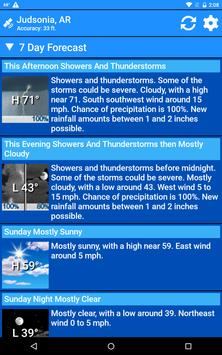 National Weather Service NOW screenshot 19