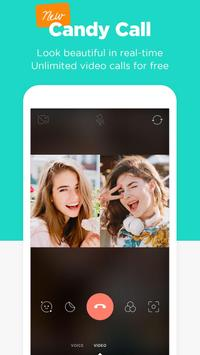 Candy Camera - selfie, beauty camera, photo editor apk screenshot