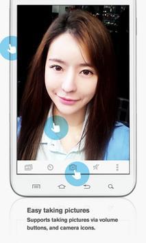 Silent Selfie Camera screenshot 1