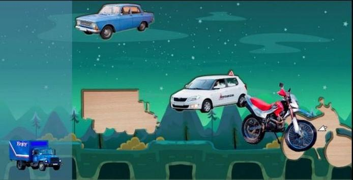 Puzzle Kids Cars 2 screenshot 1