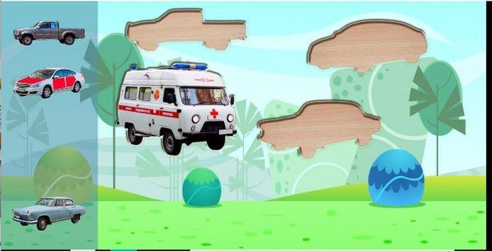 Puzzle Kids Cars 2 screenshot 7
