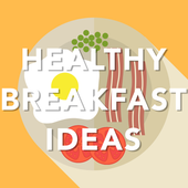 Healthy breakfast idea reciepy icon