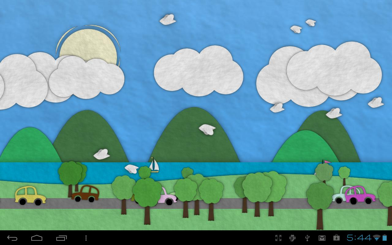 ... Paperland Live Wallpaper screenshot 12 ...