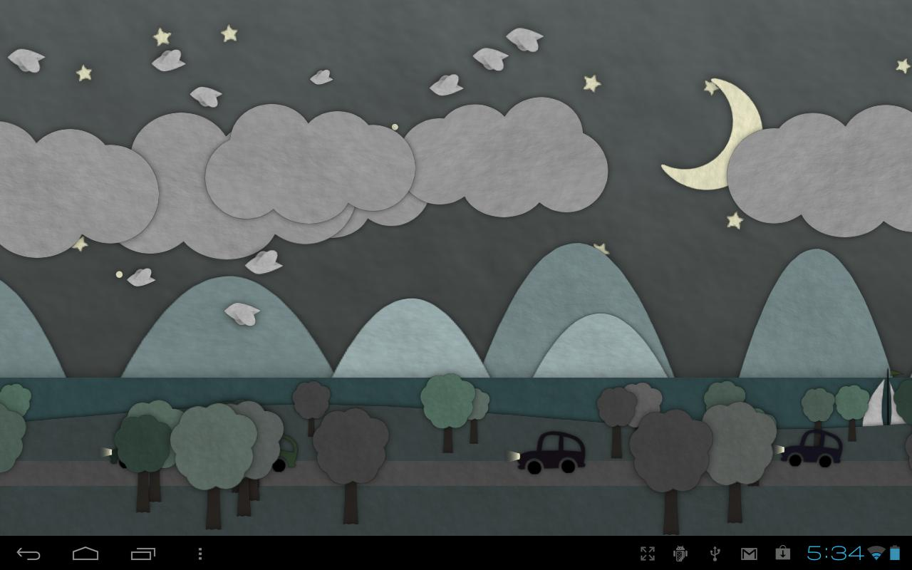 ... Paperland Live Wallpaper screenshot 13 ...
