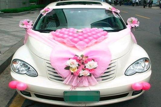 Decoration Car Wedding poster