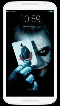 Joker Lock Screen screenshot 5