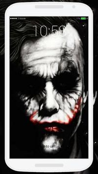 Joker Lock Screen screenshot 1
