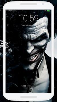 Joker Lock Screen screenshot 2