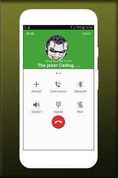 Free Call From The joker Fake screenshot 1
