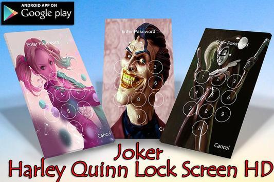 Harley Quin Lock Sreen HD apk screenshot