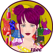 Girls Party Time Dress Up icon