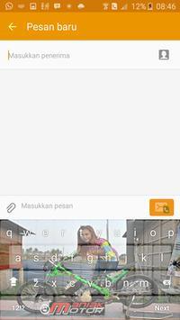 Joki Drag Cewe Cantik keyboard screenshot 4